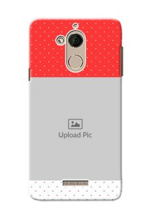 Coolpad Note 5 Red Pattern Mobile Case Design