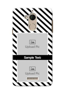 Coolpad Note 5 2 image holder with black and white stripes Design
