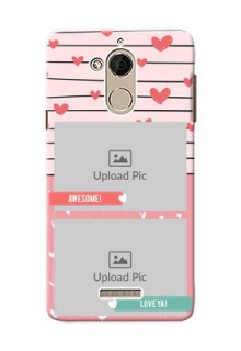 Coolpad Note 5 2 image holder with hearts Design