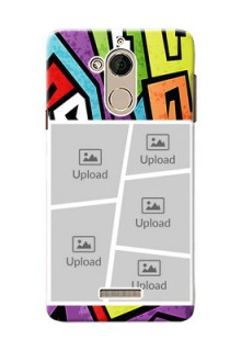 Coolpad Note 5 5 image holder with stylish graffiti pattern Design