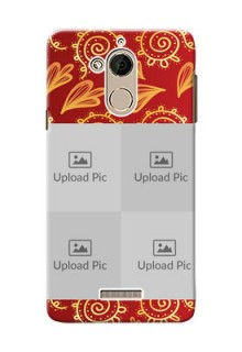 Coolpad Note 5 4 image holder with mandala traditional background Design