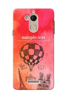Coolpad Note 5 abstract painting with paris theme Design