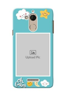 Coolpad Note 5 kids frame with smileys and stars Design Design