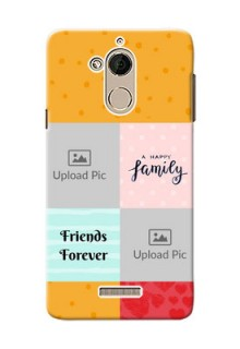 Coolpad Note 5 4 image holder with multiple quotations Design