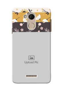 Coolpad Note 5 stylish floral side Design