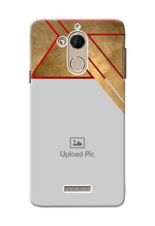 Coolpad Note 5 gradient abstract texture with stylish pattern Design