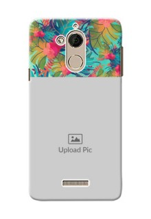 Coolpad Note 5 colourful watercolour floral Design