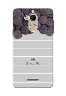 Coolpad Note 5 oreo biscuit pattern with white stripes Design Design