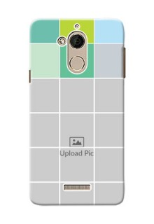 Coolpad Note 5 white boxes pattern Design Design