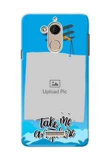 Coolpad Note 5 travel backdrop Design