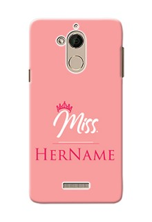 Coolpad Note 5 Custom Phone Case Mrs with Name