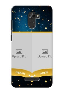 Gionee A1 Lite 2 image holder with galaxy backdrop and stars  Design