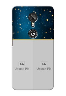 Gionee A1 2 image holder with galaxy backdrop and stars  Design
