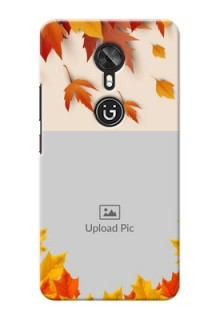 Gionee A1 autumn maple leaves backdrop Design