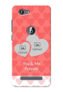 Gionee F103 Pro Couples Picture Upload Mobile Cover Design