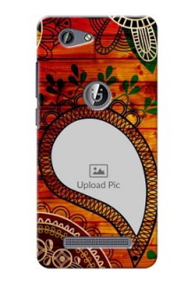 Gionee F103 Pro Colourful Abstract Mobile Cover Design