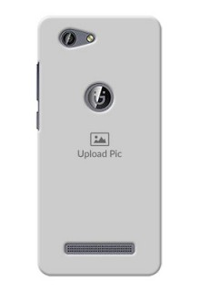 Gionee F103 Pro Full Picture Upload Mobile Back Cover Design