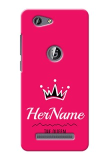 Gionee F103 Pro Queen Phone Case with Name