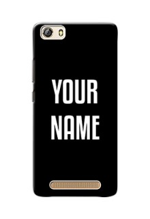 Gionee Marathon M5 Lite Your Name on Phone Case