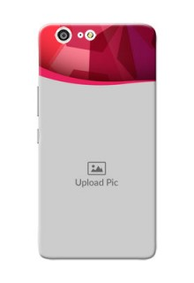 Gionee Marathon M5 Red Abstract Mobile Case Design