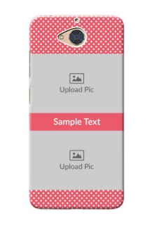 Gionee S6 Pro Custom Mobile Case with White Dotted Design