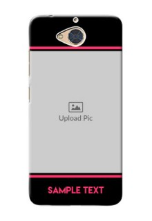 Gionee S6 Pro Mobile Covers With Add Text Design