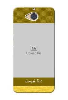 Gionee S6 Pro custom mobile back covers: Simple Green Color Design
