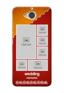 Gionee S6 Pro customized phone cases: Wedding Pic Upload Design