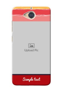 Gionee S6 Pro custom mobile phone covers: Colorful Case Design