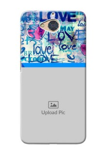 Gionee S6 Pro Mobile Covers Online: Colorful Love Design