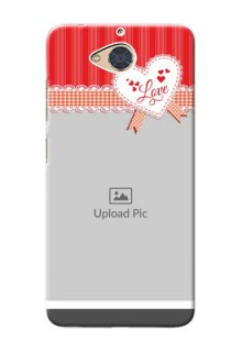 Gionee S6 Pro phone cases online: Red Love Pattern Design