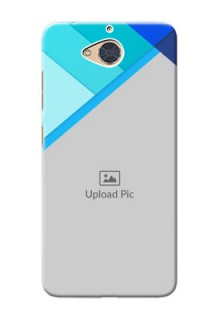 Gionee S6 Pro Phone Cases Online: Blue Abstract Cover Design