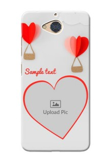 Gionee S6 Pro Phone Covers: Parachute Love Design