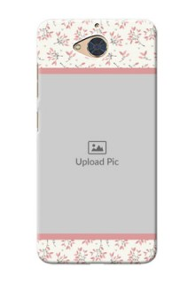 Gionee S6 Pro Back Covers: Premium Floral Design