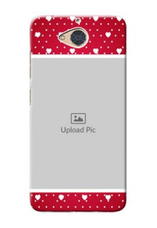 Gionee S6 Pro custom back covers: Hearts Mobile Case Design