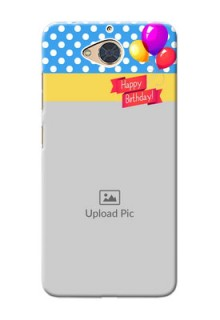 Gionee S6 Pro custom mobile back covers: Happy Birthday Design