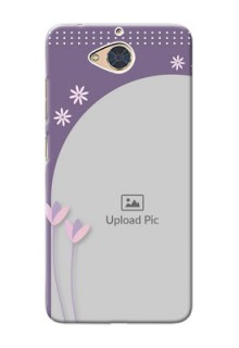Gionee S6 Pro Phone covers for girls: lavender flowers design