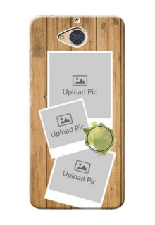 Gionee S6 Pro Custom Mobile Phone Covers: Wooden Texture Design