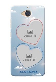 Gionee S6 Pro Phone Cases: Blue Color Couple Design