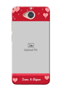 Gionee S6 Pro Mobile Back Covers: Valentines Day Design