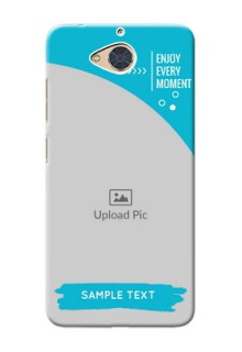 Gionee S6 Pro Personalized Phone Covers: Happy Moment Design