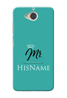 Gionee S6 Pro Custom Phone Case Mr with Name