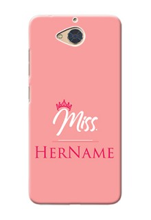Gionee S6 Pro Custom Phone Case Mrs with Name