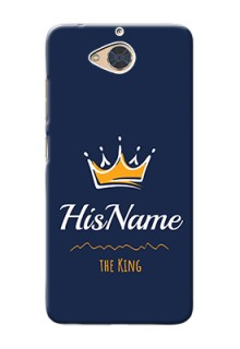 Gionee S6 Pro King Phone Case with Name