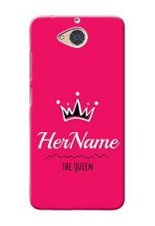Gionee S6 Pro Queen Phone Case with Name