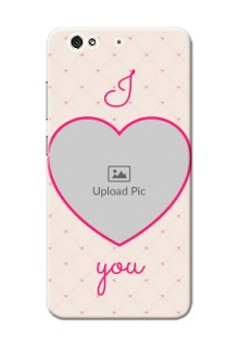 Gionee S6 Love Symbol Picture Upload Mobile Case Design