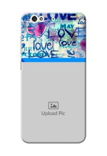 Gionee S6 Colourful Love Patterns Mobile Case Design