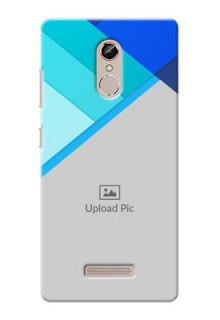Gione S6s Blue Abstract Mobile Cover Design
