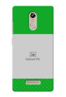 Gione S6s Green And Yellow Pattern Mobile Cover Design
