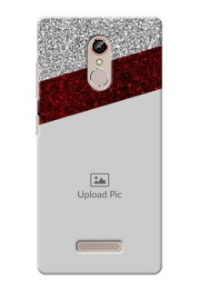 Gionee S6s 2 image holder with glitter strip Design